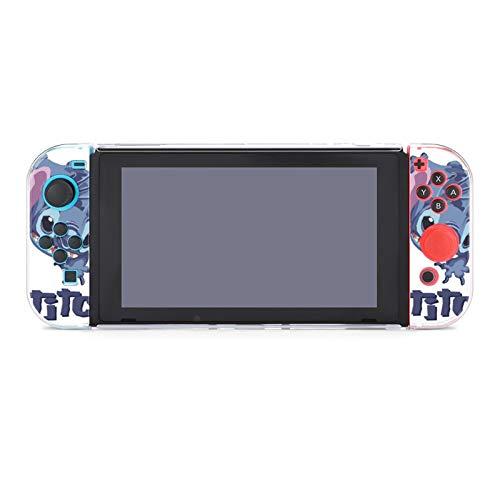 Stitch Case for Nintendo Switch Lite,Cartoon Fashion Cute Design Skin Protective Case Slim Cover Case Compatible with Nintendo Switch Lite.