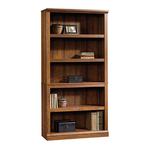 Sauder Select Collection 5-Shelf Bookcase, Washington Cherry finish