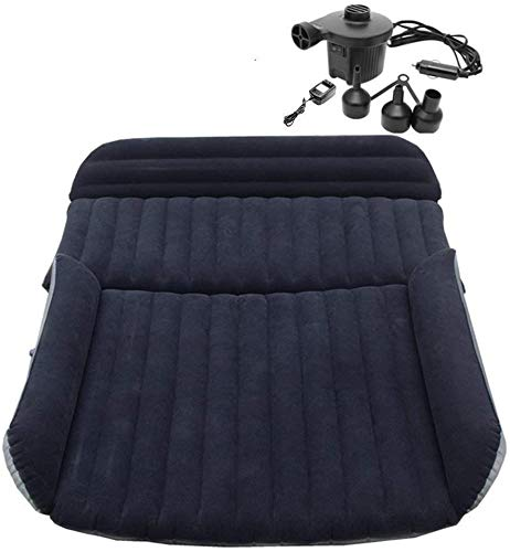Berocia Air Mattress Car Bed with Pump for Kids Toddler Adults SUV Camping Van Portable Inflatable Airbed Mattress