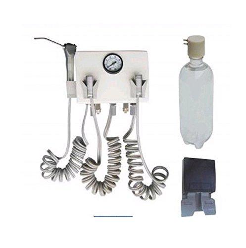 Unidad de turbina dental para colgar en la pared con compresor de plástico 4H