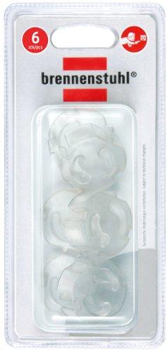 Brennenstuhl Steckdosen-Berührungsschutz (Transparenter Berührungsschutz für Steckdosen, 6 Stück)