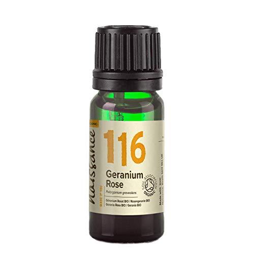Naissance Geranio BIO - Aceite Esencial 100% Puro - Certificado Ecológico - 10ml