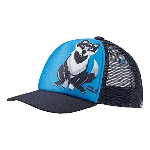 Jack Wolfskin Animal Mesh Casquettes Enfants Casquettes Enfant Sky Blue FR : Taille Unique (Taille Fabricant : One Size)
