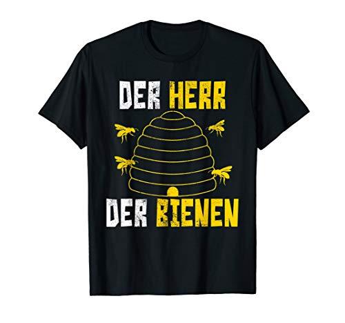 Herren Imker T-Shirt Der Herr Der Bienen Lustig Geschenk T-Shirt