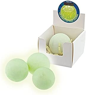 Calcite Rock Mineral Green Glow in The Dark Sphere Sold Each