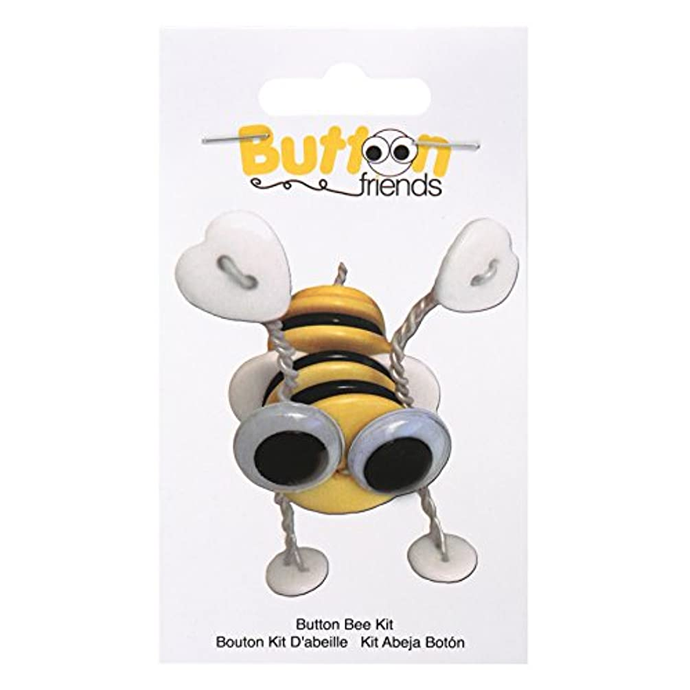 Blumenthal Lansing Company DIY Craft - Button Friends, Bumble Bee