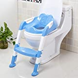 Mutiwill Baby Training Toilet Ladder Seat Toddler Kids Assitant Potty With Steps For