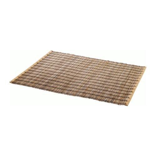 IKEA TOGA-Tischset, aus Bambus, Maße: 35 x 45 cm