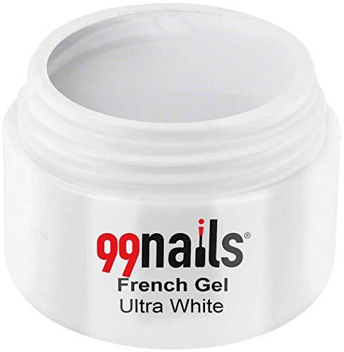 99 Nails® French Gel – Ultra White, 1er Pack (1 x 15 ml)