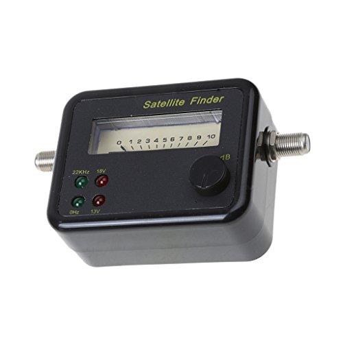PremiumX PXF-20 Digital Sat Finder Display LCD Segnale sonoro Bussola Satellite Satellite Finder Dispositivo di misurazione Satfinder FullHD HDTV 4K
