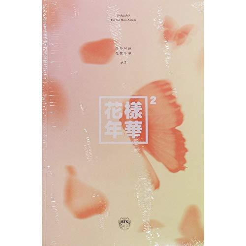 BTS BANGTAN BOYS KPOP 4th Mini Album In The Mood For Love PT.2 [Peach Ver.] CD + Photobook + Photocard