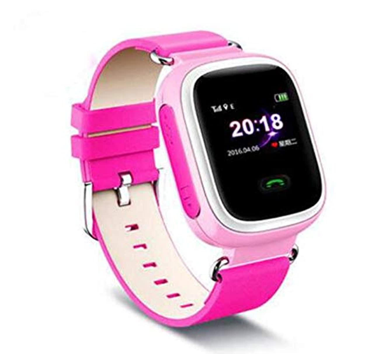 FAIYIWO Smart Watch Kids SOS Outdoor Emergency Smartwatch Waterproof Bluetooth Watch Wristband Remote FAIYIWO Pink
