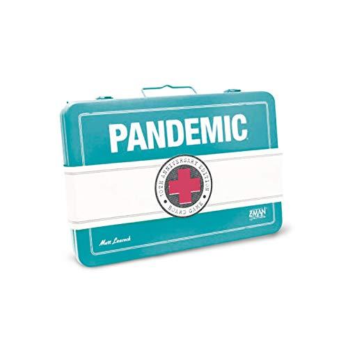 Asmodee- Pandemic 10th Anniversary Juego de Mesa, Color 8392