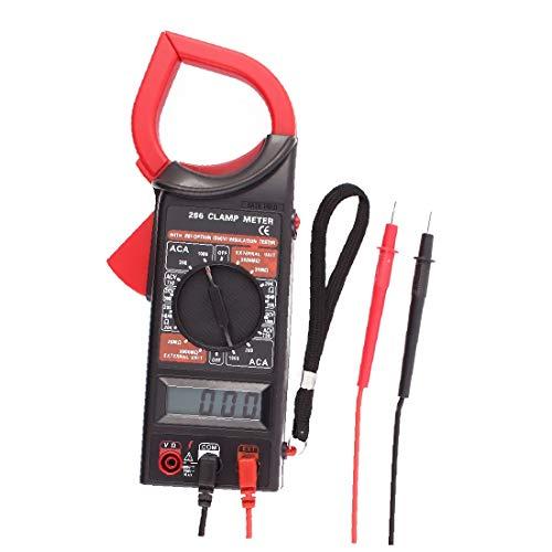 X-DREE MAS266 AC DC Multimeter Electronic Tester Digital Clamp Meter Current Kit Resistance(MAS266 AC DC Multímetro Probador electrónico Medidor digital de abrazaderas Kit actual Resistencia