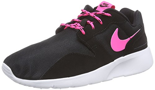 Nike Damen Kaishi Gs 705492-001 Low-Top, Schwarz (Black/pink pow-white), 38.5 EU