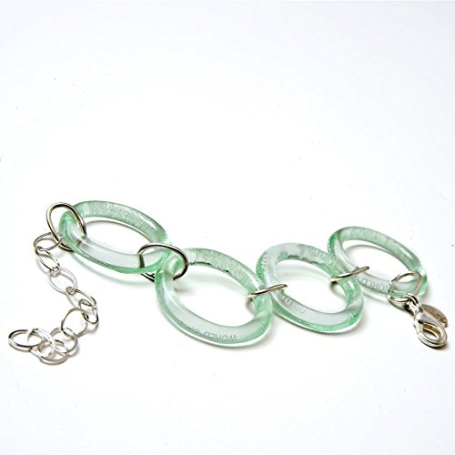 Recycled Glass lowest price Open Coca-Cola Bottle Bracelet Be super welcome