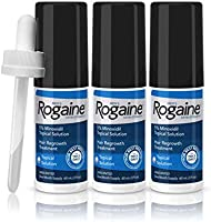 Rogaine Men's Extra Strength Solution, 2 Oz (Pack of 3)
