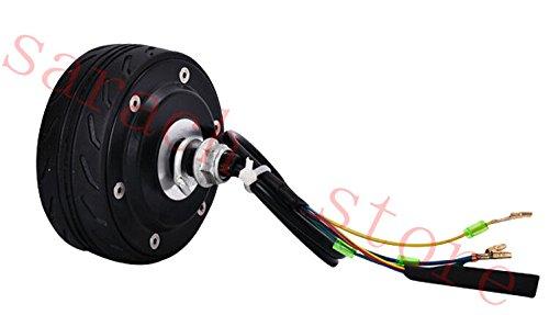 4 zoll 150 Watt 36 v doppelwelle elektrische radnabenmotor elektroroller motor elektromotor für roller