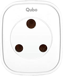 Qubo Smart Plug - 16 Amp Plug | Remotely Control and Schedule Existing Electrical Appliances | Voice Control with Alexa | ZigBee Enabled | HS2SK-E