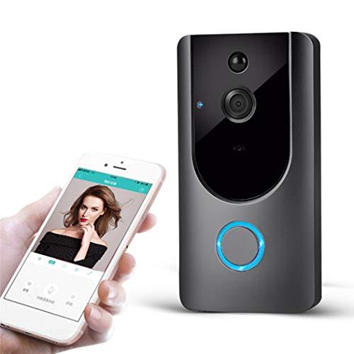 Uso Domestico Monitoraggio Remoto Wireless Videocitofono con Conversazione Bidirezionale in Tempo Reale, Video HD, Rilevamento del Movimento Migliorato, Installazione Semplice