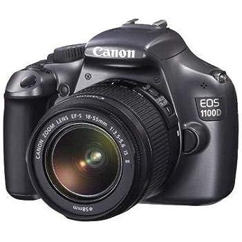 Canon EOS 1100D (Grey) Digital SLR Camera w/EF-S 18-55mm f/3.5-5.6 is II Lens