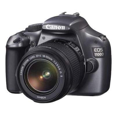 Canon EOS 1100D (Grey) Digital SLR Camera w/EF-S 18-55mm f/3.5-5.6 is II Lens