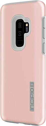 wholesale Incipio DualPro Case online sale Compatible with Samsung Galaxy online S9+ - Iridescent Rose Quartz/Gray online sale