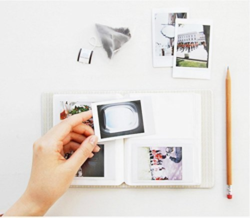 CAIUL Compatible Mini 8 Camera Case Bundle with Album, Filters & Other Accessories for Fujifilm Instax Mini 9 8 8+ (Black, 7 Items)