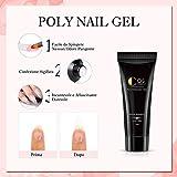 Zoom IMG-1 kit 4pc poly nail gel