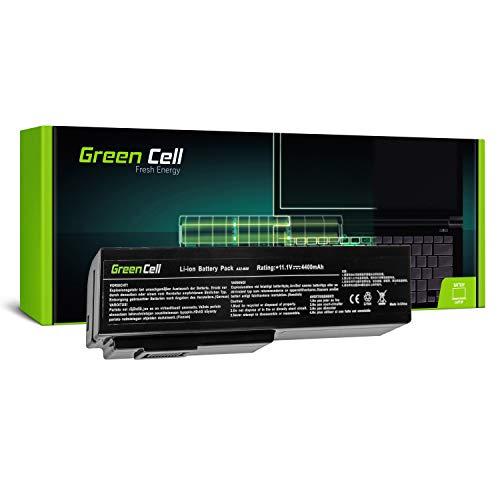 Green Cell® Standard Serie A32-M50 A32-N61 Batería para ASUS N52 N52D N52J N53 N53J N53S N53SV N61 N61DA N61J N61JV N61V N61VG N61VN Ordenador (6 Celdas 4400mAh 11.1V Negro)