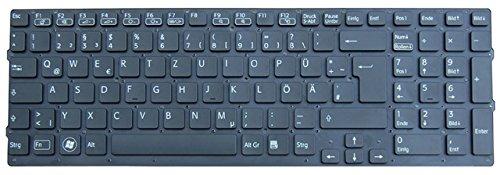 NExpert deutsche QWERTZ Tastatur für Sony Vaio VPCF23Q1E VPCF23S1E VPCF23Z1E Series Schwarz Neu