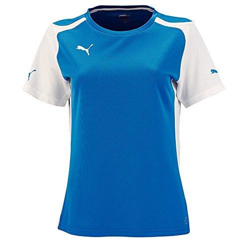 PUMA Speed t-Shirt en Jersey pour Femme Medium Bleu - Bleu Roi/Blanc