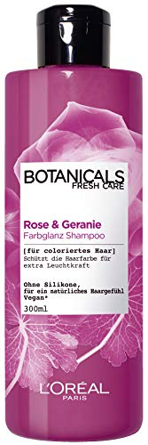 L'Oréal Paris Botanicals Fresh Care Rose Und Geranie Farbglanz Shampoo, 1er Pack(1 x 300 ml)