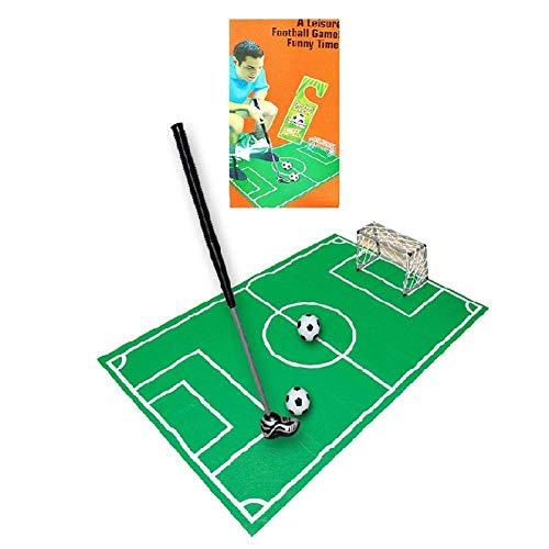 Toiletten-Fußball-Set, WC Fußball, Töpfchen Putter Badezimmer Spiel, Neuheit Putting Geschenk Spielzeug, Indoor-Golf Praxis Putting, Geschenk für Die Familie