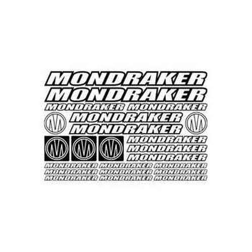 myrockshirt Mondraker Style 2 Bike Sponsorset Aufkleber Sticker ca.30cm Aufkleber Autoaufkleber Sticker Decal ohne Hintergrund UV&Waschanlagenfest