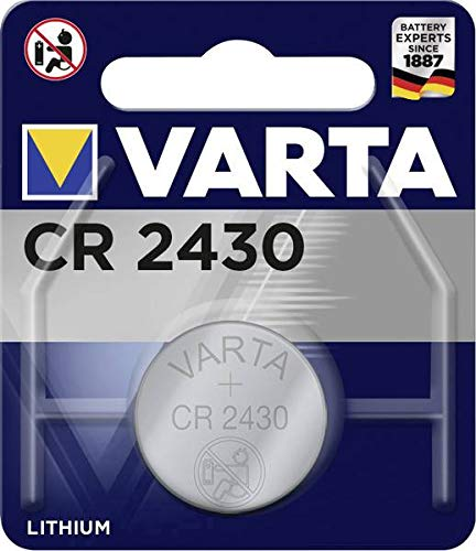 VARTA Batterie CR 2430 Lithium Knopfzelle