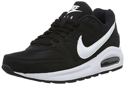 Nike Air Max Command Flex Jungen 844346-011 Turnschuhe, Black (Schwarz / Weiß Weiß), 35,5 EU