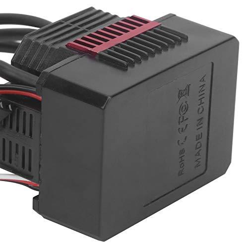 YOIM ESC con Enchufe XT60, Conveniente Controlador de Velocidad eléctrico Múltiples Funciones de protección para Coches RC 1/12 para usuarios de Coches RC para Coches RC 1/10