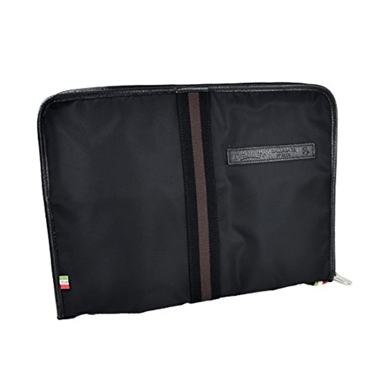 レバー抵抗力がある混合したオロビアンコ Orobianco クラッチバッグ/タブレットケース KARTA-OBGI NERO-99 ブラック/型押しブラックレザー or161606 正規品