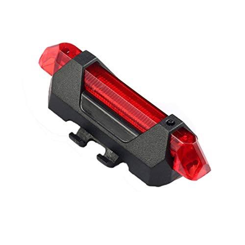 WEIHAN Portátil Recargable USB Luz de Cola Ciclismo Bicicleta de Bicicleta Bicicleta Trasera Advertencia de Advertencia de Cola Trasera Luz de Luz Trasera Lámpara Super Brillante