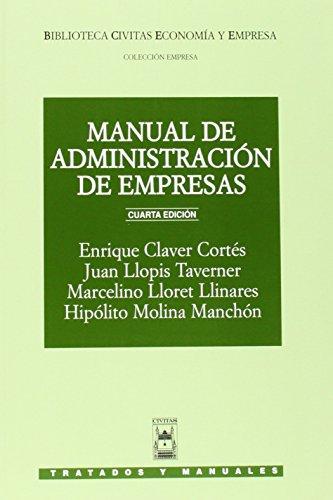 Manual de Administración de Empresas (Tratados y Manuales de Empresa)
