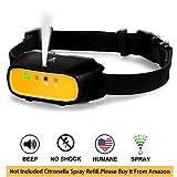 WWVVPET Spray Dog Bark Collar,Citronella Dog Training Collar (Citronella Spray Not Included),No Electric