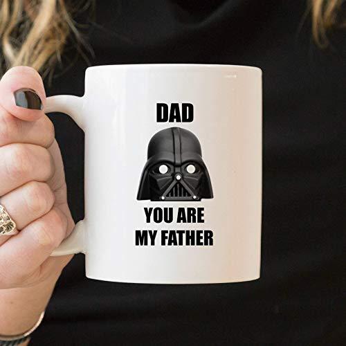 Taza divertida del día del padre, taza divertida del papá, regalo del día del padre Star Wars, taza de café del papá, taza de Star Wars del papá, taza del papá de Darth Vader, regalo divertido del pap