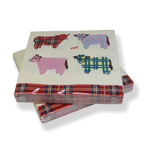 Highland Cow Paper Napkins (20)