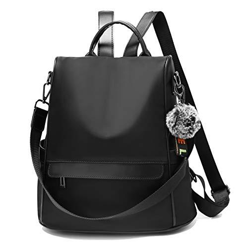 TcIFE Rucksack Daypack Damen Wasserdichte Nylon Schultasche Anti Diebstahl Schultertasche...
