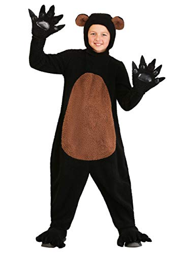 Grinning Grizzly Bear Costume for Kids Child Bear Suit Small