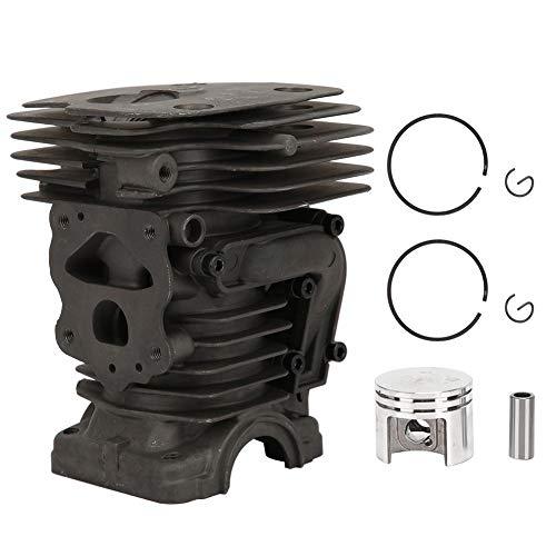 Kolbenbaugruppe aus Aluminiumzylinder, Kettensägezylinder, Verschleißfestigkeit, Kolbendurchmesser 44 mm, für 450-Benzin-Kettensäge