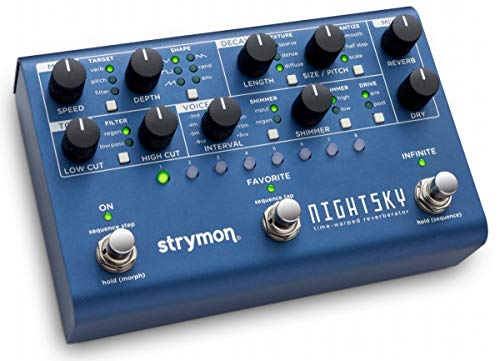 Strymon Nightsky Time Warped Reverberator Effects Pedal