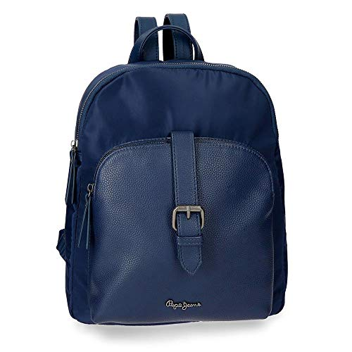 Pepe Jeans ANN Mochila Porta Tablet, Color Azul