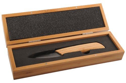 DM CREATION 00198 Couteau Bambou/Céramique 8 cm